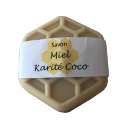Savon au miel karité et coco